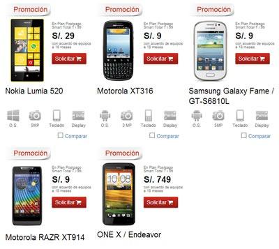 claro ofertas smartphones solo x 24 horas septiembre 2013 peru 2