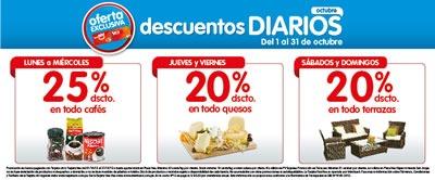 descuentos diarios plaza vea octubre 2013 peru