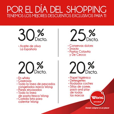 dia del shopping wong 28 sept 2013 peru