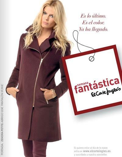 lo ultimo moda semana fantastica el corte ingles 2013