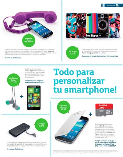 magazine be smart 01 movistar octubre 2013 peru 2
