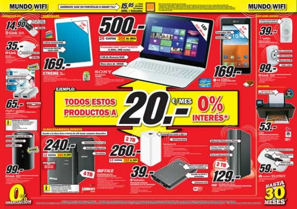media markt folleto online de ofertas en inform tica y electr nica septiembre 2013 espa a. Black Bedroom Furniture Sets. Home Design Ideas