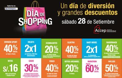 minka dia del shopping 2013 ofertas peru