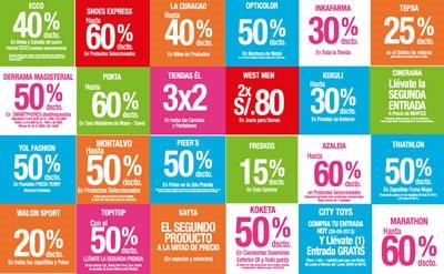 minka dia del shopping 2013 ofertas peru 2