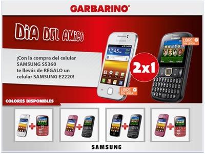 oferta-garbarino-2x1-celulares-argentina