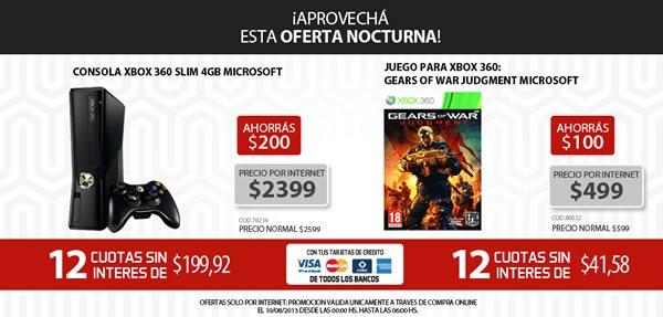 oferta-nocturna-garbarino-10-agosto-2013-argentina