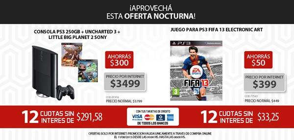 oferta-nocturna-garbarino-11-agosto-2013-argentina