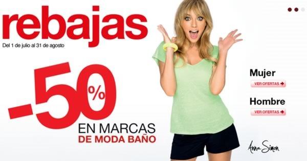 rebajas-el-corte-ingles-50-por-ciento-marcas-moda-bano-espana-agosto-2013