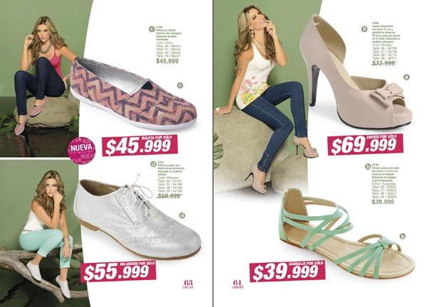 65656e0b41f Catálogo CARMEL Zapatos para Dama  Campaña 13 - Colombia