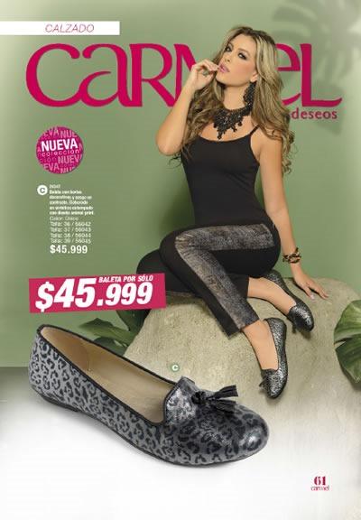 CARMEL Revista de Moda Campaña 13: Zapatos para Dama
