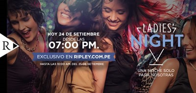 ripley ofertas ladies night 24 sep 2013 peru