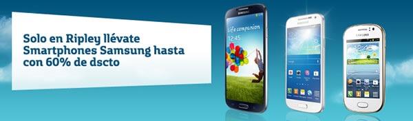ripley y movistar ofrecen descuentos en smartphones samsung