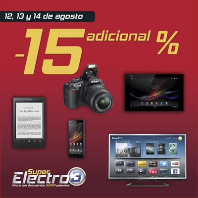 super-electro-3-electronica-el-corte-ingles-12-13-14-agosto-2013-espana