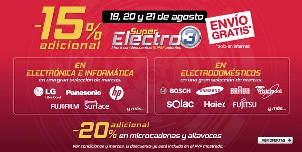 super-electro-3-electronica-el-corte-ingles-19-20-21-agosto-2013-espana