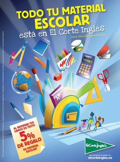 Vuelta al Cole 2013 El Corte Inglés