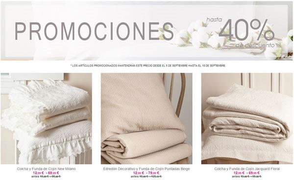 Ofertas ZARA HOME: Productos con 40% de Descuento